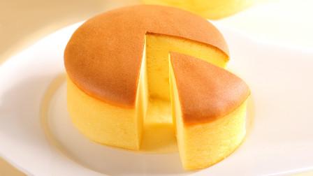 面点师教学老式鸡蛋糕的做法,外酥里软,金黄美味,是童年的味道