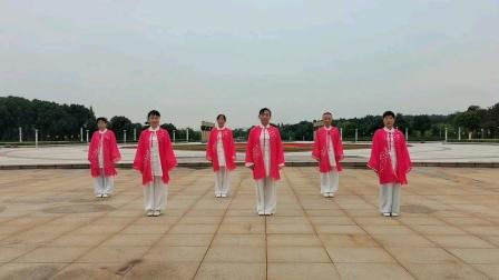 螺蛳山社区站点参加铜官区健身气功马王堆比赛视频。