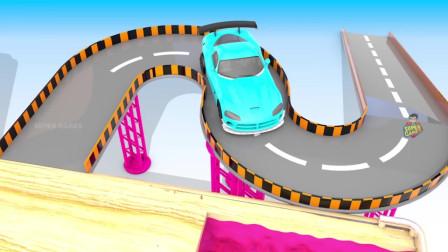 小汽车卡车工程车游戏3