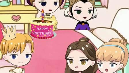 白雪剧场王子送了灰姑娘一份最珍贵的礼物白雪公主动画短片玩具故事