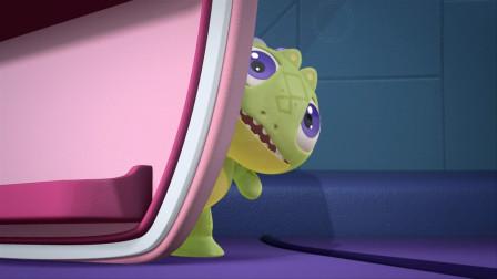 蛋计划:小恐龙打坏了小乌龟的雷达,小乌龟勃然大怒