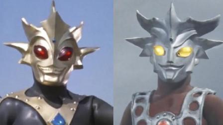 奥特曼中换过皮肤5个的怪兽!一个换了头,而他直接变成奥特曼?