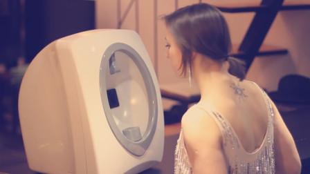 自动化妆机,采用3d打印,选好妆容放上脸,30秒让你变美