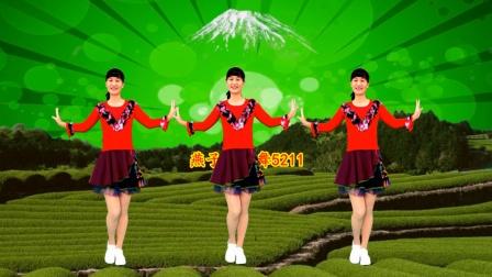 DJ广场舞《草原上美丽的姑娘》欢快舞步热情洋溢,附教学
