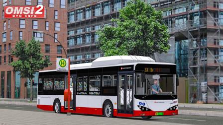 巴士模拟2 比亚迪K9FE #4:摇车继续 晚点1分半到达汉堡大街 | OMSI 2 Hamburg 111(2/2)