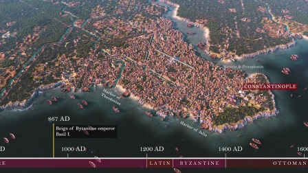 【游民星空】用《文明6》还原君士坦丁堡