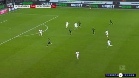 第36分钟沃尔夫斯堡球员布雷卡洛射门 - 被扑