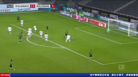 第56分钟沃尔夫斯堡球员穆罕默迪射门 - 打偏