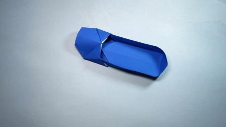 手工折纸,女士平底鞋的简单折法