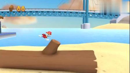 游戏汪汪队出发救援:毛毛从岸边飞到沙滩上,帮助一条大鱼