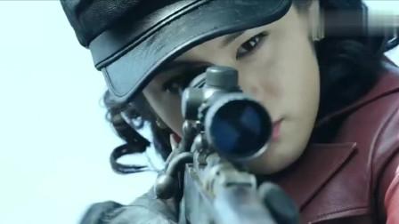 浪花淘尽:女特工执行任务狙击黑杀帮密使,一枪倒下一个