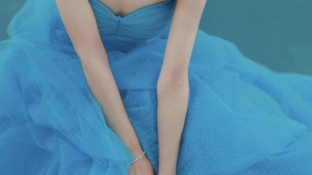 第13届金鹰节颁奖晚会:赵丽颖明蓝色公主蛋糕裙