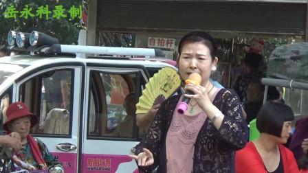 豫剧《大祭桩》选段,优秀演员丁焕演唱,岳永科录制,郑州人民公园