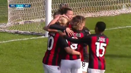 米兰女足德比-AC米兰女足4-1国际米兰女足