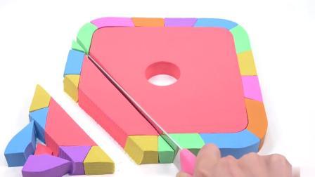 儿童玩具:魔力沙彩边蛋糕