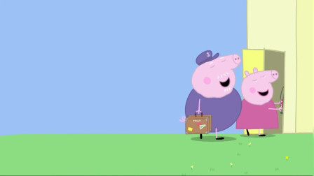 小猪佩奇:爷爷奶奶要度假,把波利交给佩奇抚养,佩奇好期待!