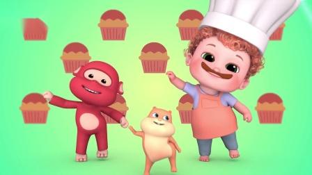 全能宝贝BOBO:蛋糕真好吃 和BOBO一起享受美味的蛋糕吧
