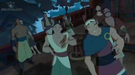 船上所有男人都被水妖迷惑了!这下可糟了!只有玛丽娜是清醒的!