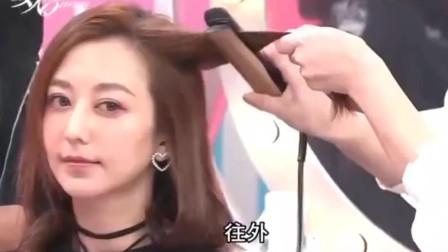 女人我最大:吴依霖现场打造水原希子同款发型,恕我直言,太美了