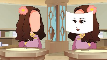 悬疑推理:奇怪,无脸女画了精致五官约会,怎么还是吓到了对方?