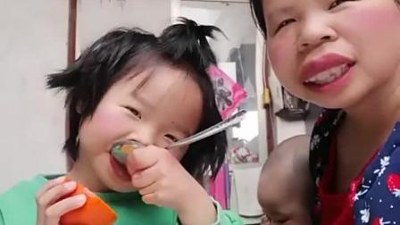 童年趣事:宝宝的好吃的不给妈妈