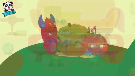 哄娃小动画:鼻子里的细菌怪物哪里