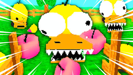 桃子精解说 2020 饥饿鸭 小鸭子变异成了尖牙怪,要把我做成苹果派吃