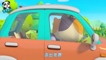 哄娃小动画:菜鸟警车,心系百姓,勇往前行!