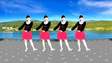 广场舞《格桑拉》简单欢快,愉悦身心,送给你