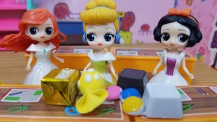 白雪公主故事 灰姑娘改过自新,再也不把零食当饭吃了!