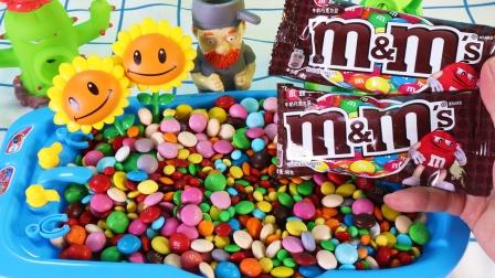 植物大战僵尸至彩虹糖装满浴缸 趣味糖果零食