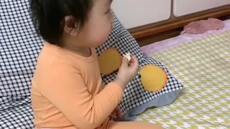 亲子游戏:暖宝在谁家就是谁家的姑娘