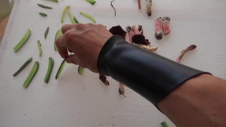蔬菜干:利用白坯布制作的晒干蔬菜网,纯棉环保材质,非常好用!