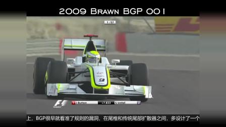 F1:历史黑科技系列,双层扩散器,你还记得吗?