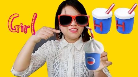 敏儿老师 - 3分钟DIY饮料可乐模型