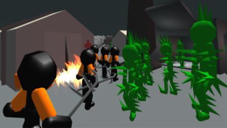 火柴人战争模拟器3D版完结篇,这游戏太简单了,直接怼无脑通关