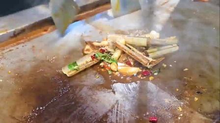 舌尖上的中国:街头特色美食,铁板烧的艺术品,这玩意好吃吗?