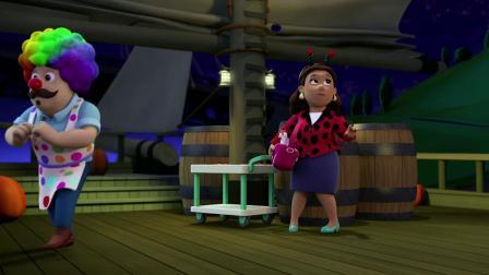 汪汪队:天天圆了公主梦,穿上粉色小短裙,参加万圣节派对!