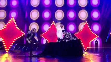 奇舞飞扬:谁说90后不行?90后舞团帅气登场,现场起舞迎来掌声一片