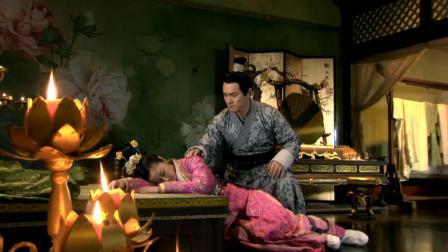 马馥雅染病晕倒在地,祈佑看见顿时心疼坏了,连忙将她抱到床上!
