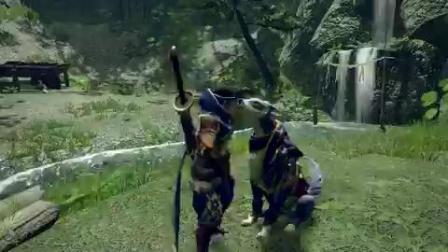 【游民星空】《怪物猎人崛起》牙猎犬互动视频