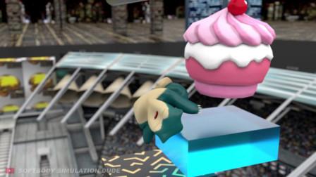 其他动画-果冻卡比兽-Softbody Simulation Dude