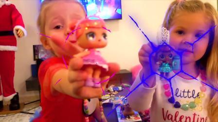 美国少儿时尚,宝贝们一块过圣诞节,好高兴呀