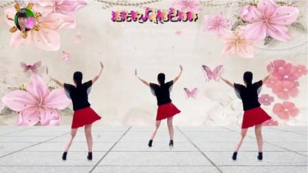 阳光美梅广场舞【不过人间】火爆网红64步-背面演示