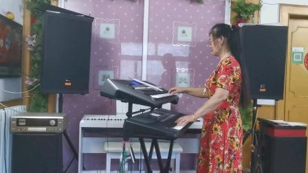 《一壶老酒》视频双电子琴演奏