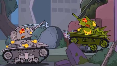 坦克大战:被太阳粒子攻击后,竟出现心控坦克?