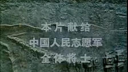 电影抗美援朝烈士英灵永垂不朽