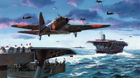 美军战斗机摸黑飞回特混舰队时,竟在漆黑的海域,找不到降落点