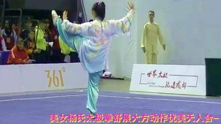 优美音乐九儿-美女杨氏太极拳表演心醉了