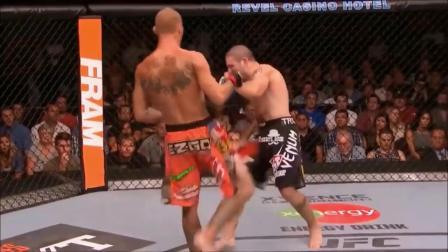 """燃!UFC最强无冕之王""""牛仔""""唐纳德.赛罗尼高光KO集锦"""